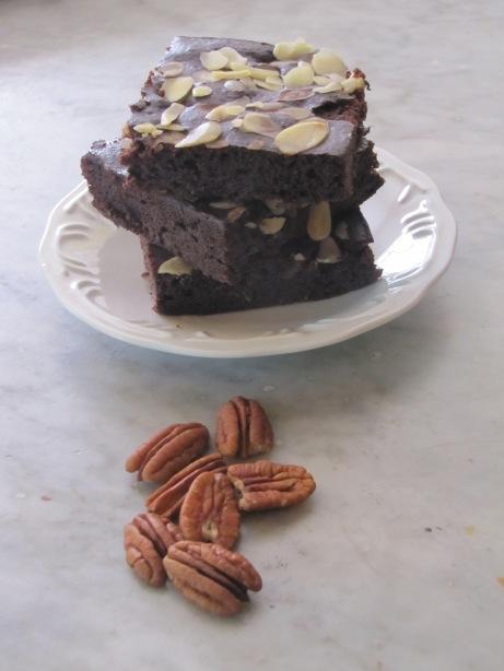 Dark Choco Pecan Brownie 1