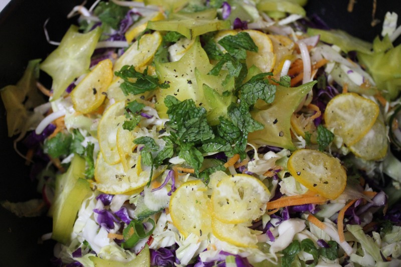 Crunchy, Tangy Slaw with an Orange-Balsamic Vinaigrette