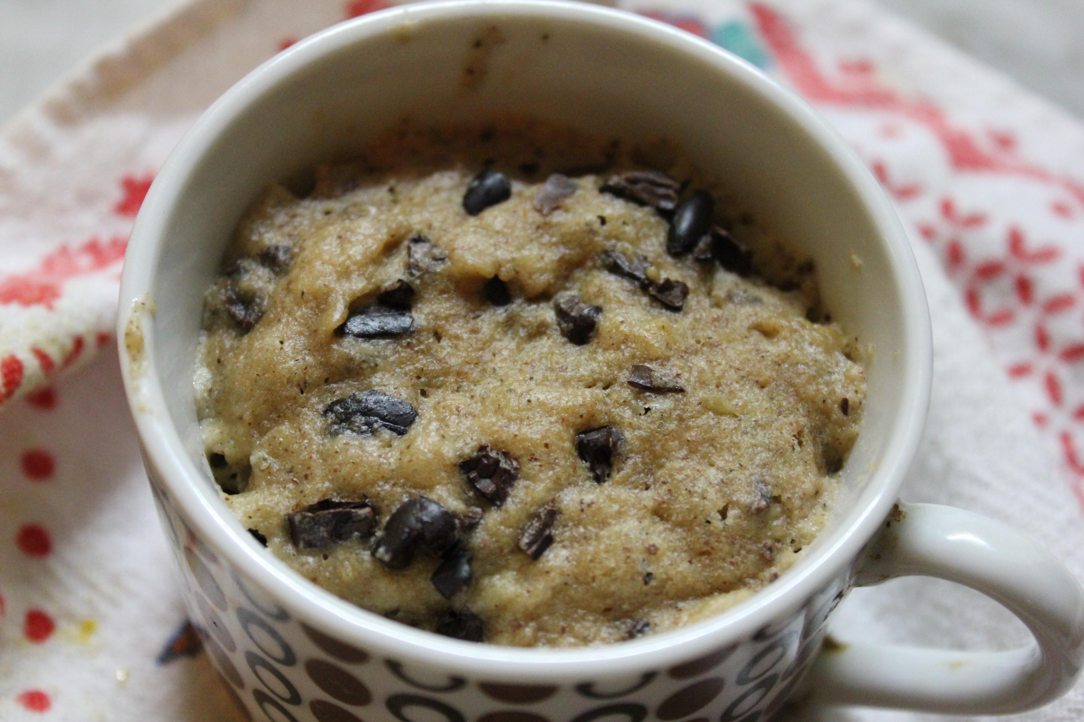 Cookie Dough Mug Muffin Gluten Free Vegan Sugar Free My Little Jar Of Spices