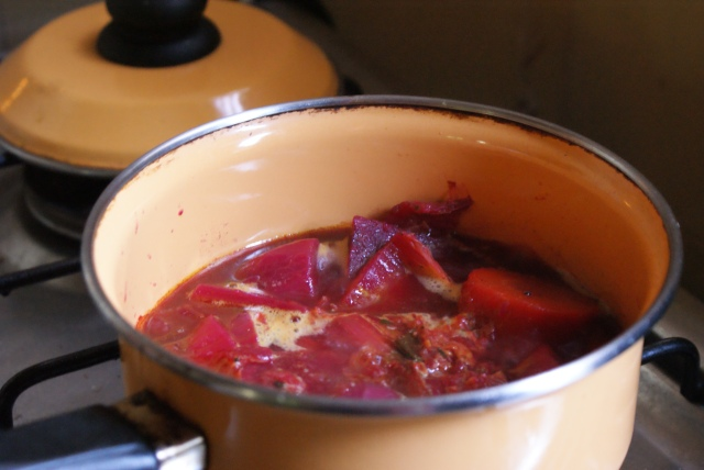 Red Root Vegetable Soup