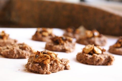 Chewy Banana and Cashew Butter Cookies