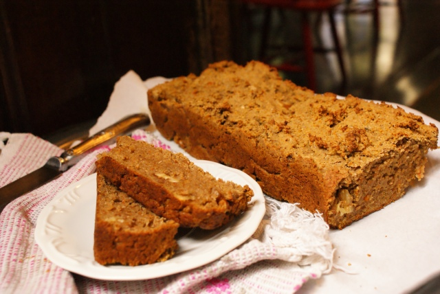 Pumpkin Chestnut Bread