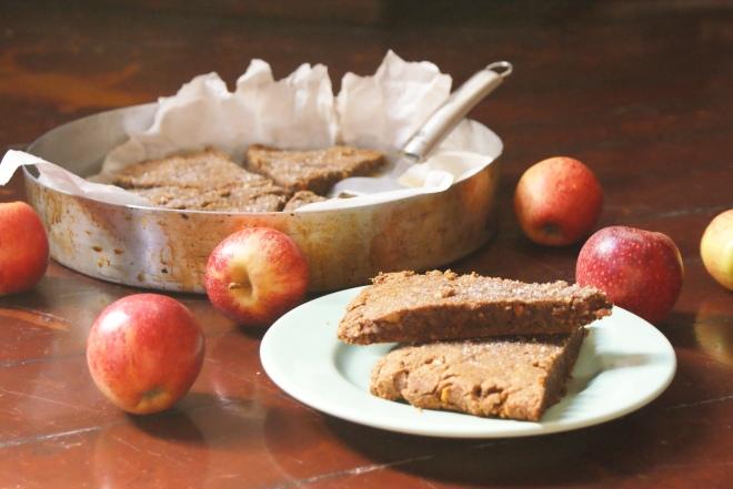 Apple Spice and Maple Scones
