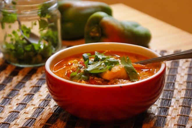 Ecuadorian Coconut Fish Stew (Encocado de Pescado) by My Little Jar of Spices