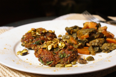 Moroccan Spiced Burgers by My Little Jar of Spices