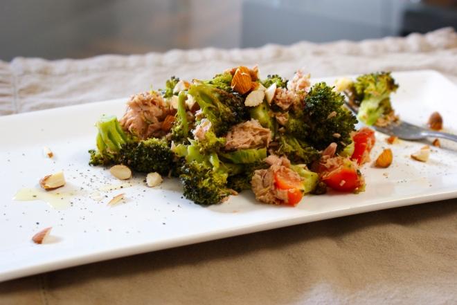 Roasted Broccoli Tuna Salad by My Little Jar of Spices