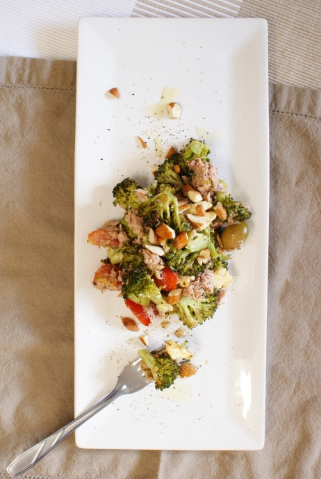 Roasted Broccoli Tuna Salad by My Little Jar of Spices