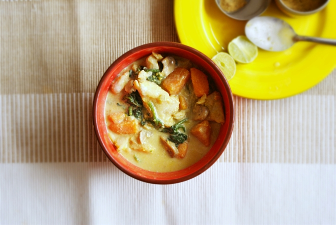 Fragrant Fish and Sweet Potato Curry by My Little Jar of Spices