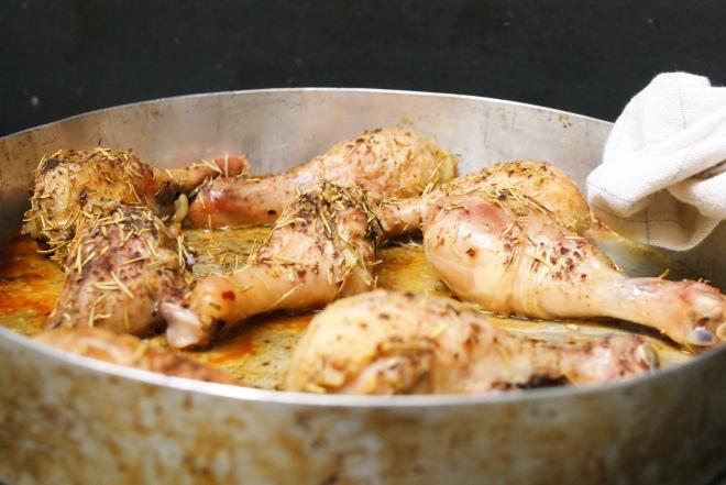 Thyme, Honey & Dijon Glazed Chicken Drumsticks by My Little Jar of Spices