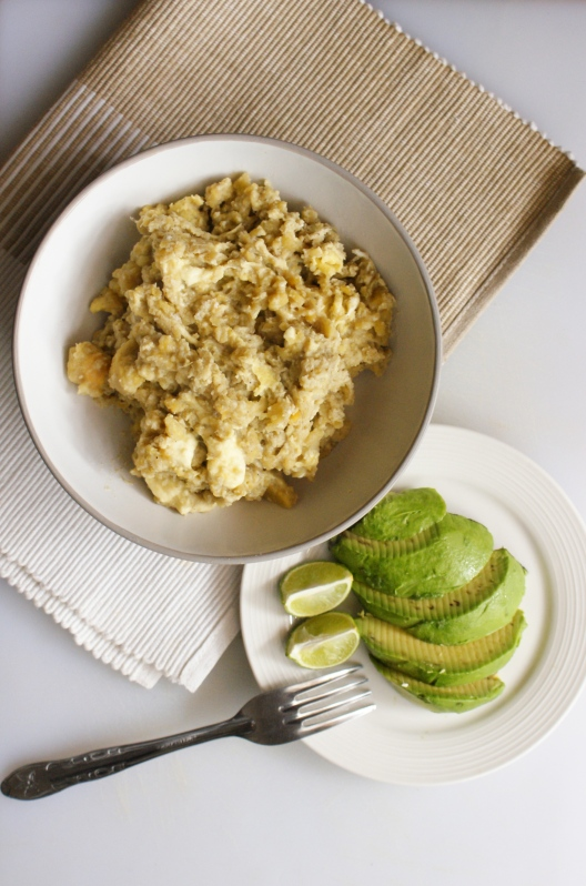 'Tigrillo' Ecuadorian Plantain, Cheese and Egg Scramble by My Little Jar of Spices