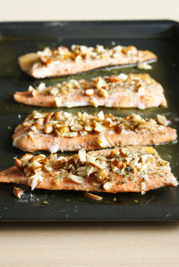 Brown Butter Trout Amandine by My Little Jar of Spices
