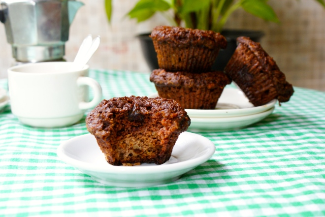 Paleo Carrot Cake Muffins by My Little Jar of Spices